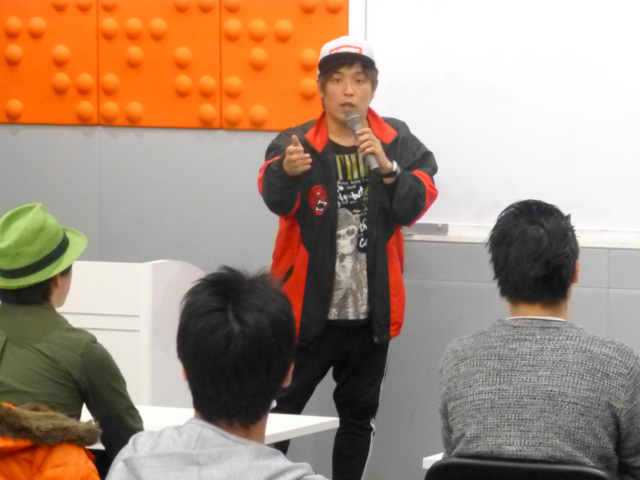 【渋谷校】パチスロ必勝本ライター「くりさん」の無料特別講義を実施しました。